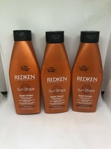 (3) Redken Sun Shape Swim Cream Protective Hair Cream 5oz Each - $59.99