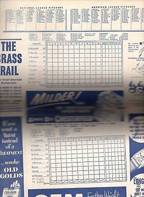 WILLIE MAYS First Home Run Program-Scorecard-May 28,1951 Polo Grounds NY Giants