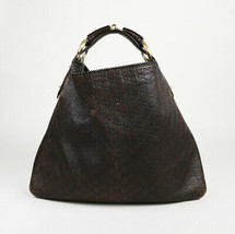Gucci Large Guccissima Monogram Hobo Bag - $560.00