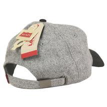 Levi's Men's Classic Wool Adjustable Strap Curved Bill Trucker Baseball Hat Cap image 3