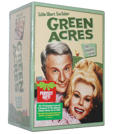 Green Acres The Complete Series Seasons 1-6 DVD Box Set 24 Disc Free Shipping