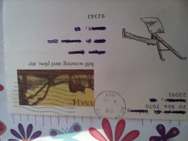 1987 SELF SCOURING STEEL PLOW , 1837 FIRST DAY ISSUE-USED CANCELLED - $1.50