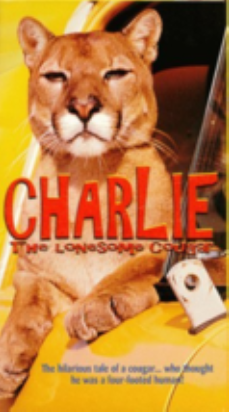 Charlie The Lonesome Cougar Vhs