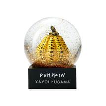Yayoi Kusama Snow Globe Pumpkin Yellow Figure Moma Design Store - $147.71