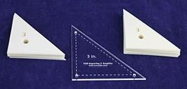 """Mylar 3"""" Right Triangle 51 Piece Set - $23.99"""