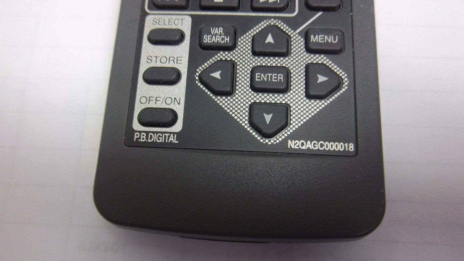 EMERSON  N9278UD  Remote Control OEM WITH GAME BUTTON