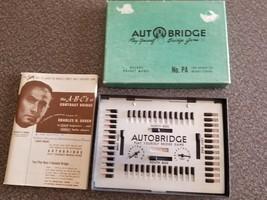 Deluxe Pocket Model, Vintage, Autobridge Game, Advanced Bridge Players Game - $15.84