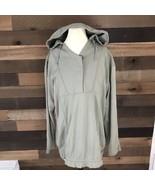 Nike Acg Tan Hooded Rare Sweater Womens Size Xl 16-18 Rn56323 - $33.65
