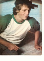 Jimmy Mcnichol teen magazine pinup clipping 1970's by the pool black hat... - $3.50