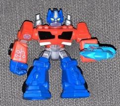 "Transformers Playskool Rescue Bots Optimus Prime 3.5"" Hasbro A2108 C-015D - $6.93"