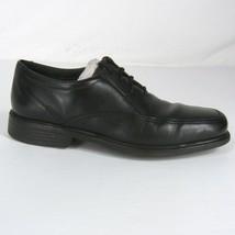 New BOSTONIAN Men's Dress Shoes Ipswich Apron 8 Black Leather Lace Up Oxford - $49.99
