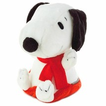 Hallmark Peanuts Zip-N-Go Christmas Snoopy on Sled Plush New with Tag - $16.65