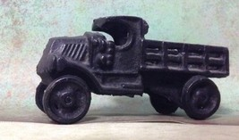 vintage 1920s cast iron toy truck with moving wheels on both axles excel... - $39.60