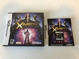 X-Men: Destiny - DS - Complete CIB - $8.73