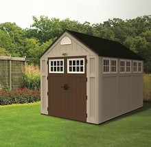 Suncast Sheds Alpine 7.5 x 10 Resin Storage Shed w/ Floor and Windows (B... - $1,899.95