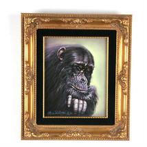 """""""I'm Thinkin', i'm Thinkin'"""" By Anthony Sidoni 2002 Signed Oil Painting ... - $2,108.22"""