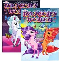 KAPPA Unicorn World Coloring & Activity Book | 2-Title - $7.99+