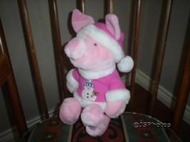 Winnie Pooh Piglet Snowman Disney Store Exclusive Plush - $67.50