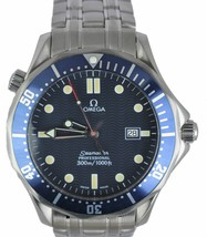 Omega Seamaster Professional 300M 2541.80 Blue Wave Quartz 41mm Men's Watch - $2,393.32