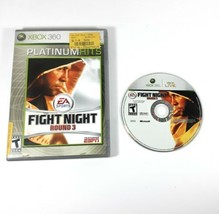 Fight Night Round 3 (Microsoft Xbox 360, 2006) Game and Case Tested  - $12.70