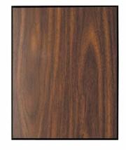 "Walnut Finish w/Black Trim Blank Wood Plaque 6"" x 8""  AS LOW AS $2.95 ea... - $8.95+"