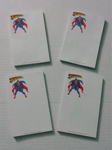 4 Vintage original 1993 DC Action Comics Superman school supplies notepa... - $24.74
