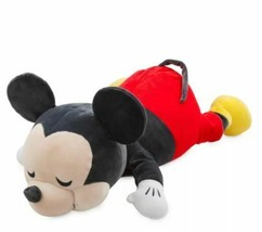 "Disney Store MICKEY MOUSE CUDDLEEZ PLUSH 23"" Soft Pillow  LARGE NEW 2019"