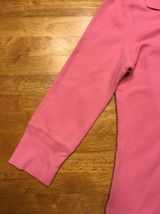 Abercrombie Girl's Pink 3/4 Sleeve Polo Shirt - Size: Large image 6
