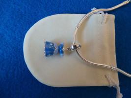 NEW Disney Princess Theme Charm - Cinderella's Dress Enamel & silver plate +BAG - $10.99