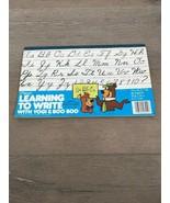 1978 Used Hanna Barbera Yogi Bear & Boo Boo Mead Learning to Write Book - $14.00