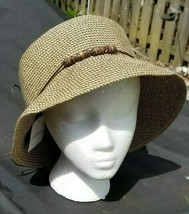 Croft and Barrow Brown Packable Hat - $23.74