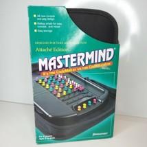 Mastermind Attache Edition Travel Game Zippered Case Pressman 2006 Play ... - $33.90