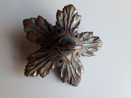 Antique old  Bronze Chandelier Ceiling Light  Support Mount Bracket - $83.16