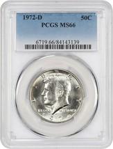1972-D 50c PCGS MS66 - Kennedy Half Dollar - $29.10