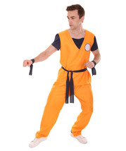 Dragon Ball Z Goku Costume | Orange TV / Movie Costumes - £25.00 GBP