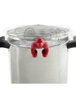 Norpro Ape Escape Silicone Pot Lid Vent - Helps Prevent Boil Over! Red - €6,45 EUR