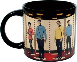 STAR TREK Mug Heat Activated Transporter Room Coffee Transforming Energize ! OOP image 2