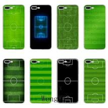 green Football Field Soccer print Slim silicone TPU Soft phone case For Huawei P - $12.89