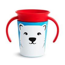 Munchkin Miracle 360 WildLove Trainer Cup, 6 Ounce, Polar Bear - $6.92