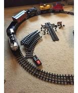 Eztec G Gauge 2050 Rio Grande Toy Train Set Engine Caboose 4 Cars Track Sign GUC - $67.89
