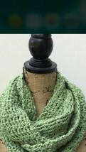 BCBGeneration Women's Scarf Bone Lime Knit Women's Green Infinity Scarf NWT - $23.76