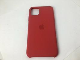 Original Apple - iPhone 11 Pro Max Silicone Case - (PRODUCT)RED -MWYH2ZM/A - $17.35 CAD