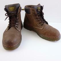 Dr Martens Air Wair Steel Toe Safety Work Boot Slip Resistant Mens Sz 13 M - $77.39