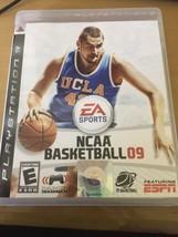 NCAA Basketball 09 (Sony PlayStation 3, 2008) PS3 With Manual - $37.39