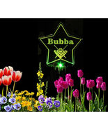 Personalized Star with pool bals lSolar Light grave marker, garden light - $38.00