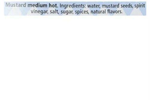 Hengstenberg Medium Hot Imported German Mustard 9.2 oz in Stein Glass Mug Jar image 4