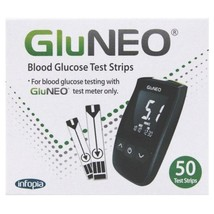 GluNEO Blood Glucose Test Strips x 50 - $19.74