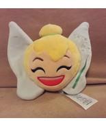 Disney Peter Pan TINKERBELL reversible face Emoji Head soft squishy plus... - $5.89