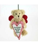 "1248 - Boyds Plush Bear Christmas 2011 Ornament~""Grammykins"" ~ NEW - $19.00"