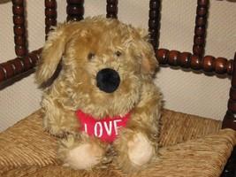 Dutch Highlite Valentine Puppy Dog Plush Toy with Love Heart - $88.88